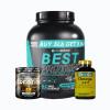 Best protein 5lb + platinum creatine 100grm + omega 3-6-9 120caps
