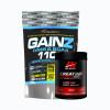 Gainz hmb & bcaa 1100 3,2lb + creatine ultra pure  100% 300grm